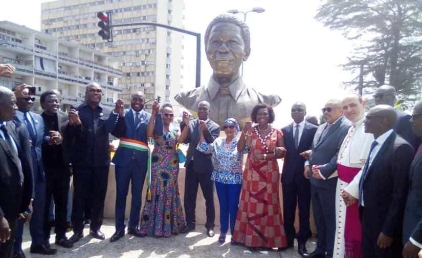 Un espace dédié à Nelson Mandela inauguré à Abidjan